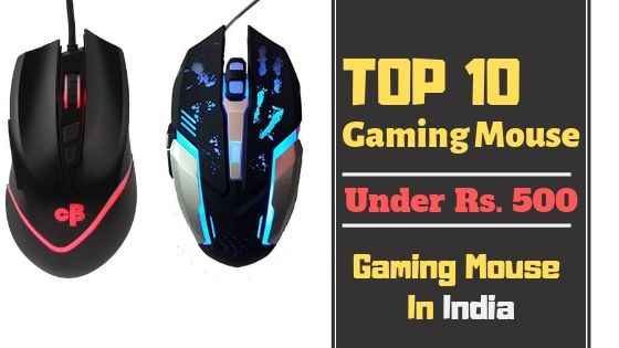 Top 10 Gaming mouse under 500