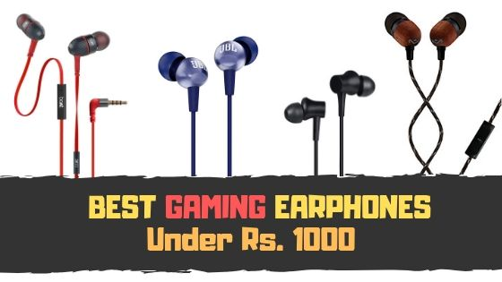 best earphones under 1000 with mic in India