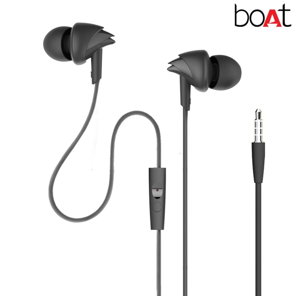 boAt BassHeads 100: best Earphones Under 1000