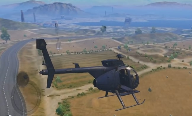 PUBG Mobile Helicopter Mode