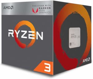 AMD Ryzen 3 2200G: best gaming cpu under 10000 with integrated graphics