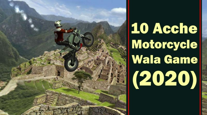 10 Motorcycle Wale Games
