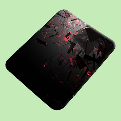 Clipart Designer Printed Rubber Base Mat Finish Mouse Pad