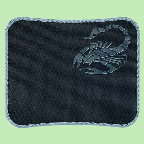 RiaTech Water Resistance Coating Natural Rubber Gaming Mouse Pad