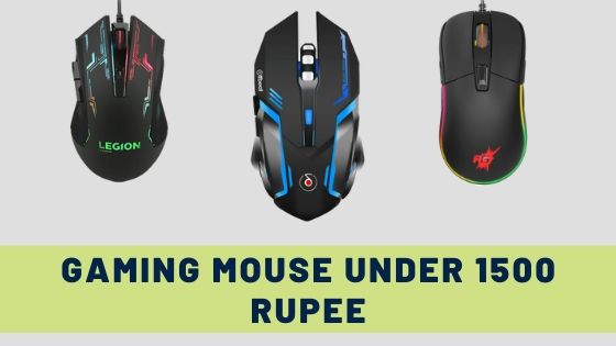 Best Gaming Mouse Under 1500 Rupee in India