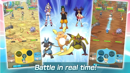 Pokémon Masters 3/10 Best Pokemon Games For Android
