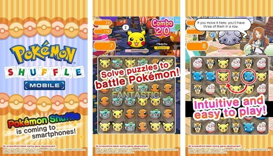 Pokémon Shuffle Mobile 10/10 Best Pokemon Games For Android