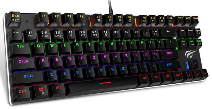 Havit RGB Backlit Wired Gaming Keyboard