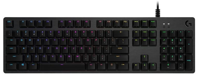 Logitech G512 Carbon RGB Gaming Keyboard