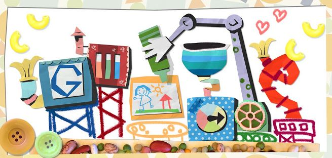 Google Doodle Mother's Day 2013