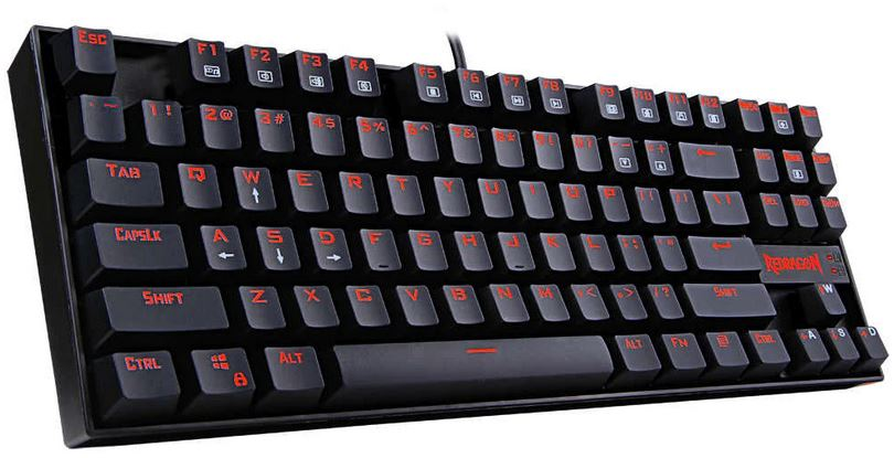 Redragon K552 RED LED Backlit Keyboard