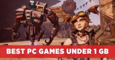 Best PC Games Under 1 GB
