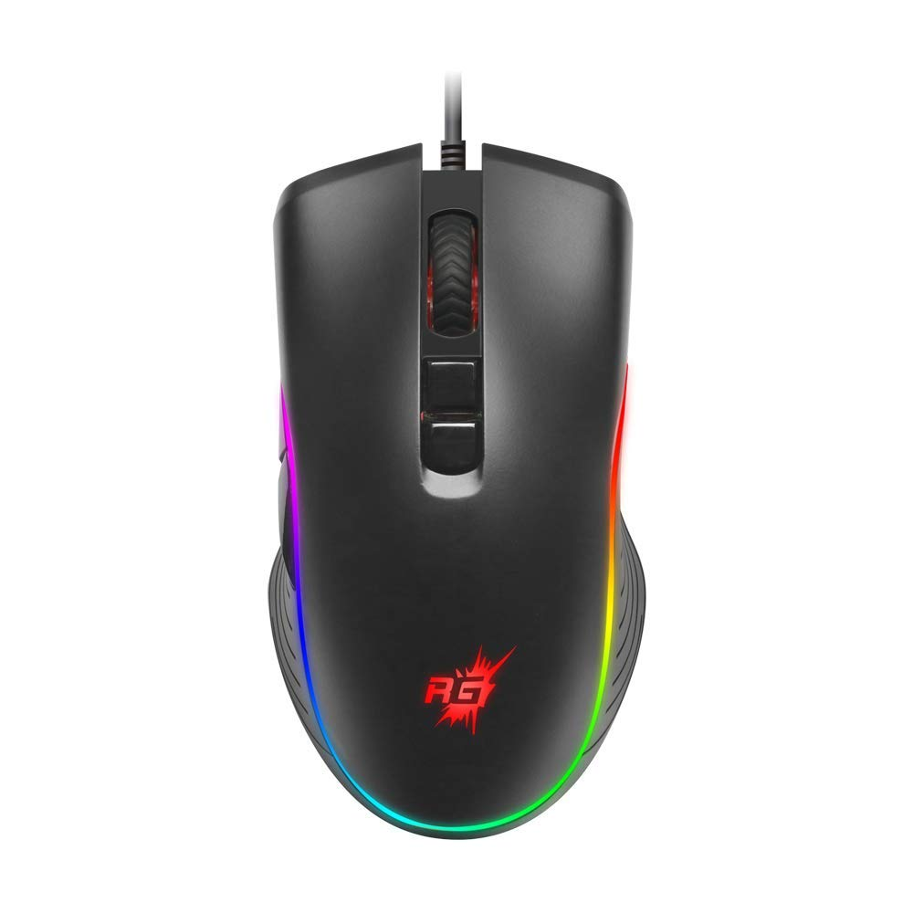 Redgear A-20 Wired Gaming Mouse with RGB