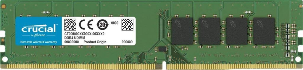 Best DDR4 RAM For Gaming : Crucial 8GB (CT8G4DFS8266)