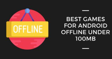 Best Games For Android Offline Under 100MB